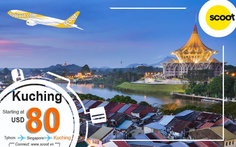 Vé máy bay đi Kuching (KCH)