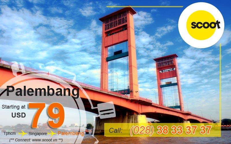 Vé máy bay đi Palembang (PLM)