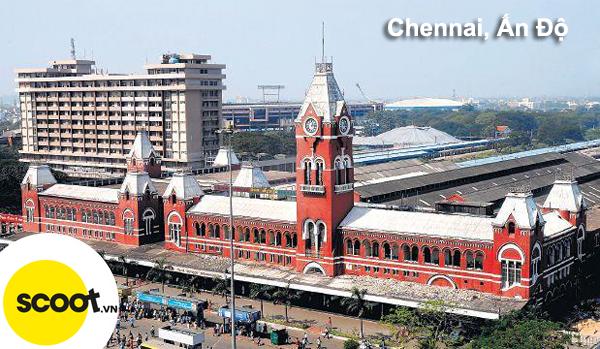 Thành phố Chennai, Ấn Độ.