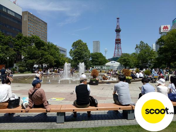 Công viên Odori, Sapporo.