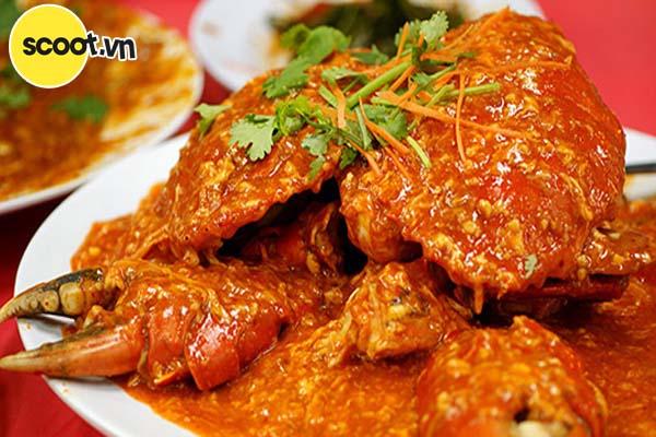Cua sốt cay (chili crab )