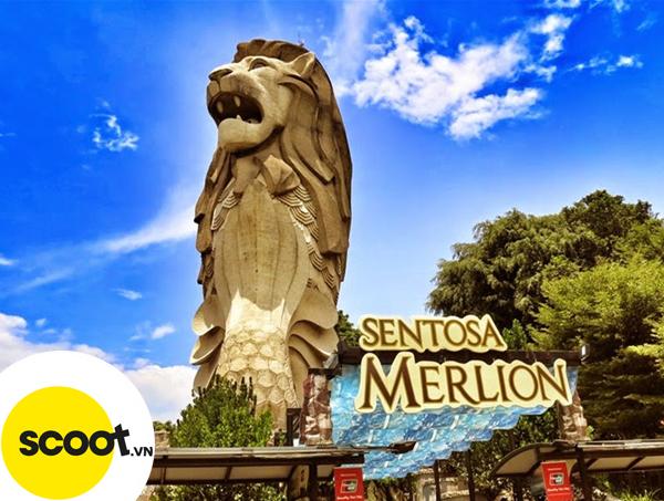 Tượng Sư tử biển Merlion, Sentosa