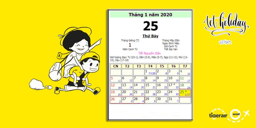 Ngày Tết 2020