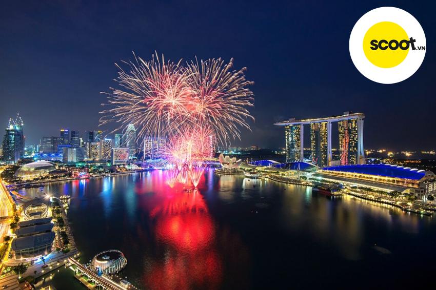 pháo Hoa mừng năm mới ở Singapore