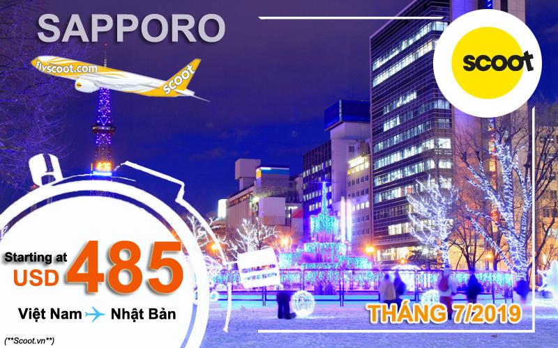 Vé máy bay đi Nhật Bản khuyến mãi đến 22/7/2019